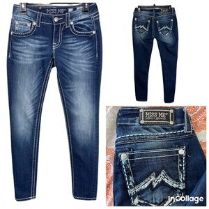 MISS ME Jeans Signature Rise Skinny Size 27